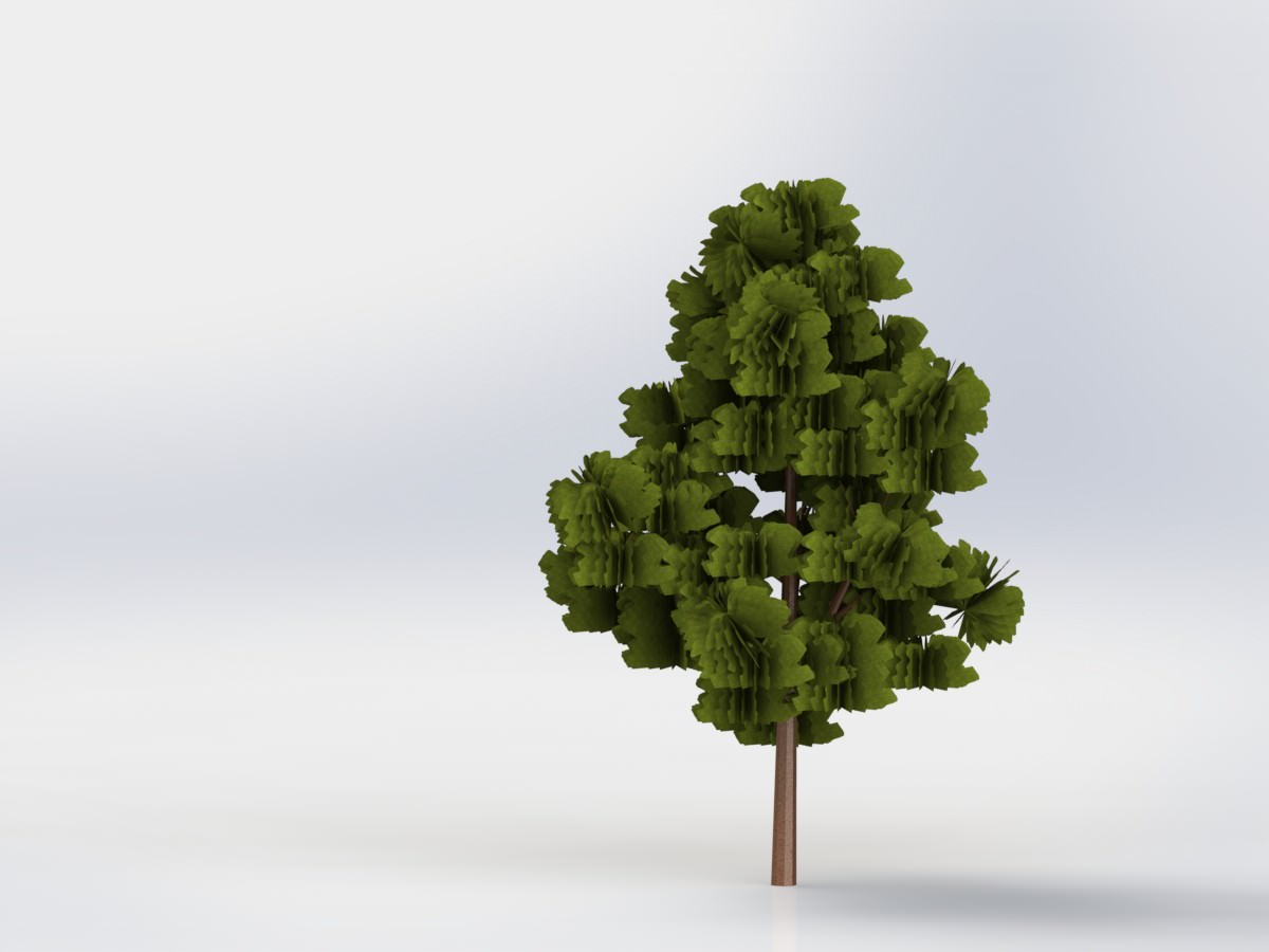 A Tree Free 3d Model Cgtrader Com