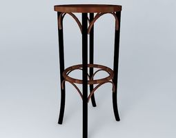 Bar stool Bistrot Houses of the world 3D