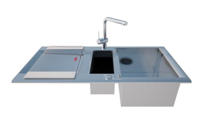 Blanco Sink Distributors : blanco sink 3D Model C4D - CGTrader.com
