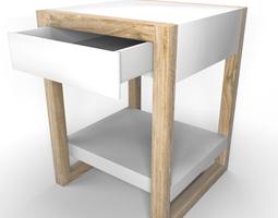 Lark sidetable 3D Model