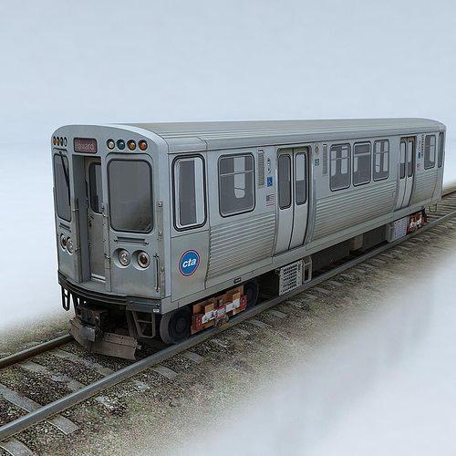 cta 5000 train 3d model low-poly max obj mtl fbx 1