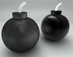 3D model Bomb Ball