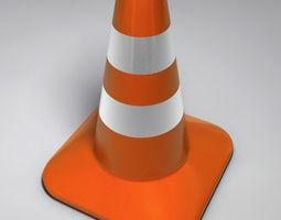 Traffic Cone 3D model security