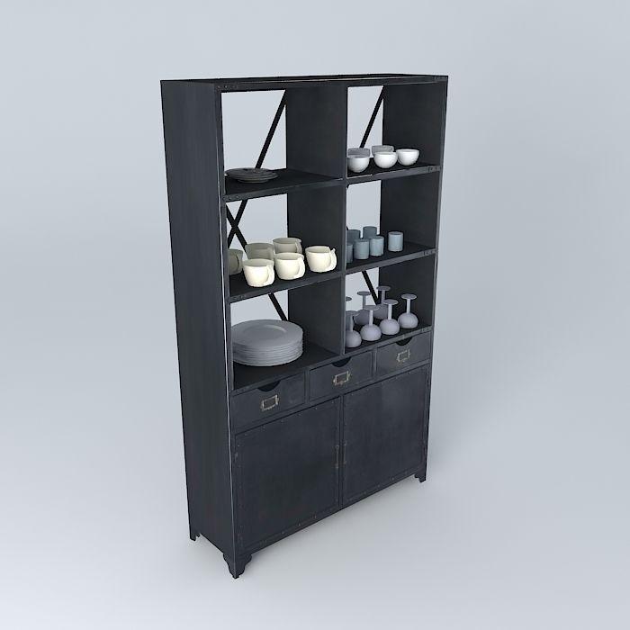Edison Shelves Maisons du Monde