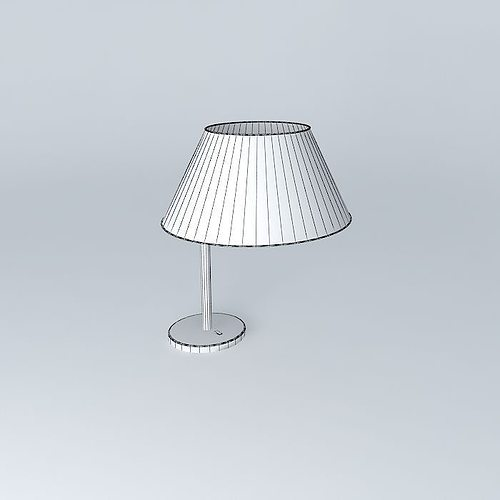 Table lamp free 3d model max obj 3ds fbx stl dae for Table lamp 3ds max