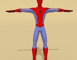 Spiderman character 3D Model