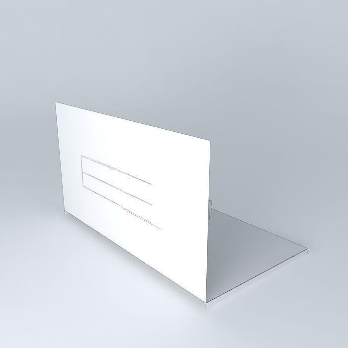 wand tv kast free 3D Model MAX OBJ 3DS FBX STL DAE - CGTrader.com