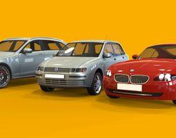 3d car collection 3