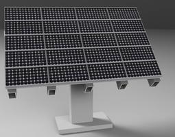 3D Photovoltaic PV Solar Panel