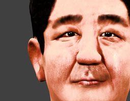 Japanese prime minister 3D model