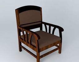 singapore chair maisons du monde 3d