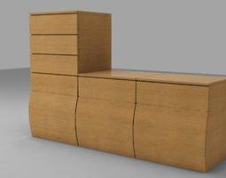 3d drawers box