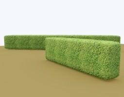 3d model hedge