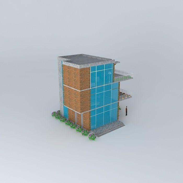 Small building at a coastal region