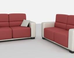 simple sofa 3d