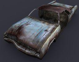 Rusty Car 3 3D Model