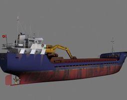 Vestland coaster 3D model