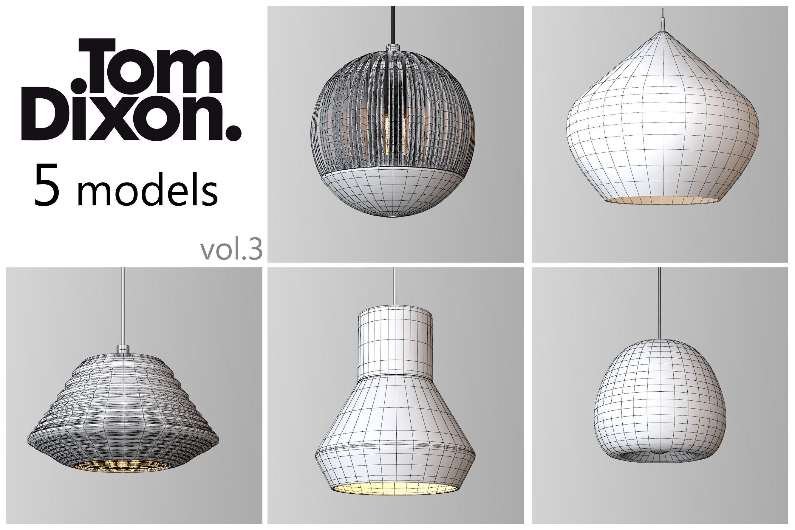 ... tom dixon lighting set 3 3d model max obj mtl 2 ...  sc 1 st  CGTrader.com & TOM DIXON lighting set 3 3D | CGTrader azcodes.com