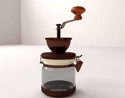 3d model coffee grinder