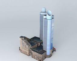 3D model Grand Gateway Plaza