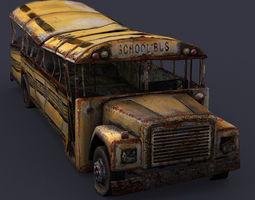 SchoolBus 3D Model