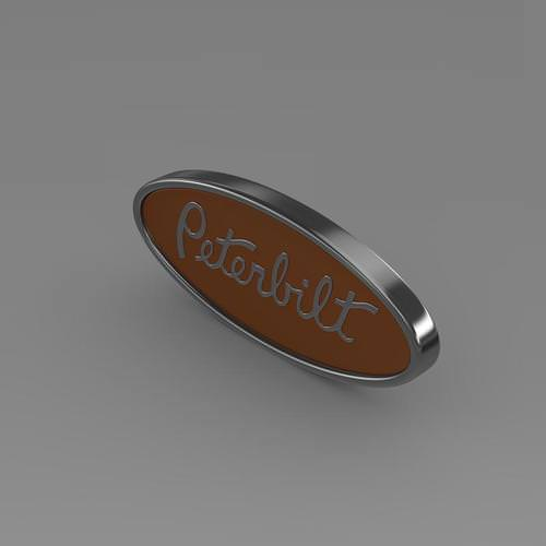 Peterbilt Logo 3D Model - FlatPyramid