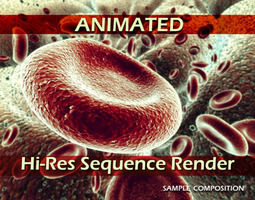 Red Blood Cells Animated 3D
