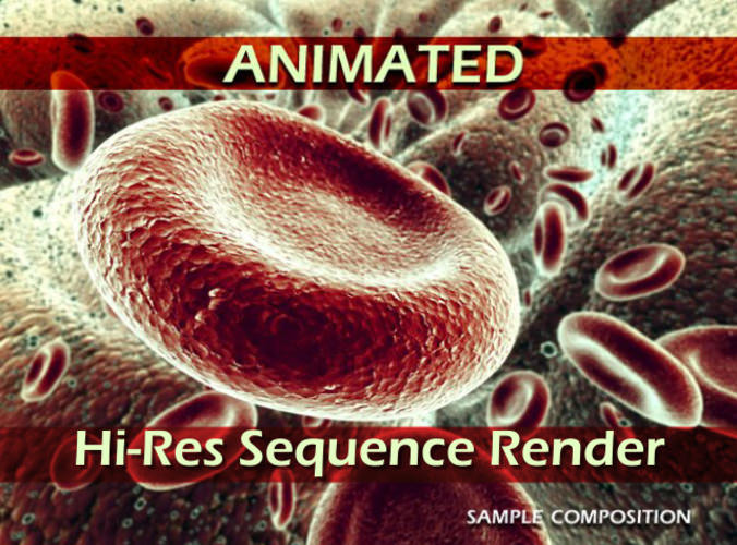 Red Blood Cells Animated