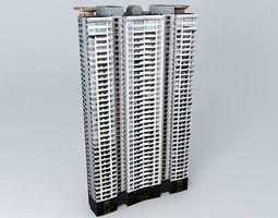 Skyline Mansion 3D model