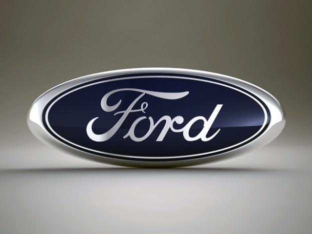 Ford Logo 3d Model Max Obj 3ds Fbx Cgtrader Com