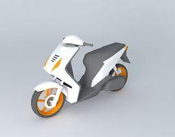 Scooter Honda Beat 3D Model
