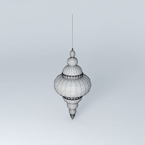 Essaouira suspension Maisons du monde 3D model | CGTrader