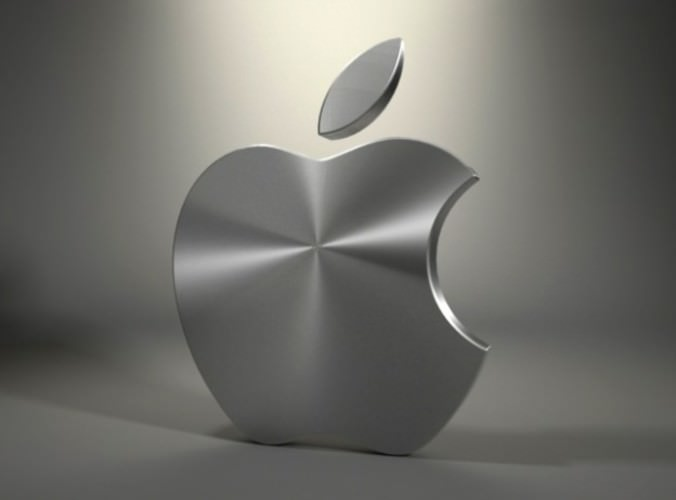 Mac Logo 3d Model Max Obj