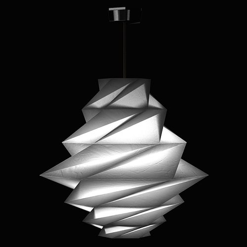 Fukurou pendant light by issey miyake from artemide lighting 3d fukurou pendant light by issey miyake from artemide lighting 3d model aloadofball Gallery