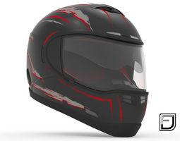 carreras 3D Black Helmet H10