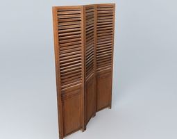 COLONIAL screen houses the world 3D model