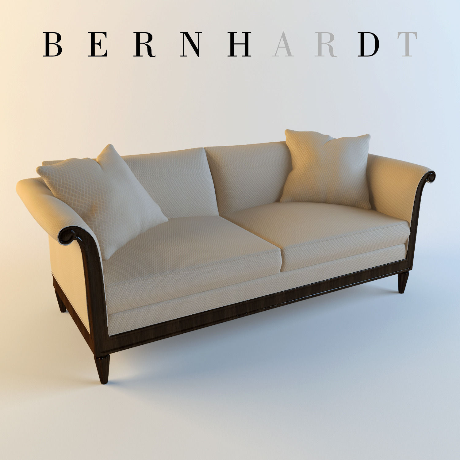 3D model Bernhardt Traditional Sofa
