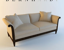 3D model Bernhardt Traditional Sofa