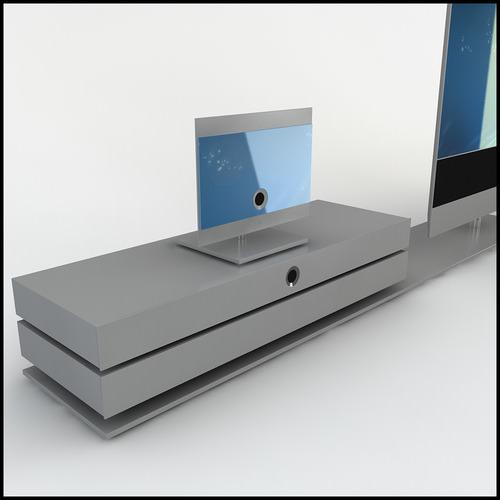 loewe reference 52 home media center equipment 3d models. Black Bedroom Furniture Sets. Home Design Ideas