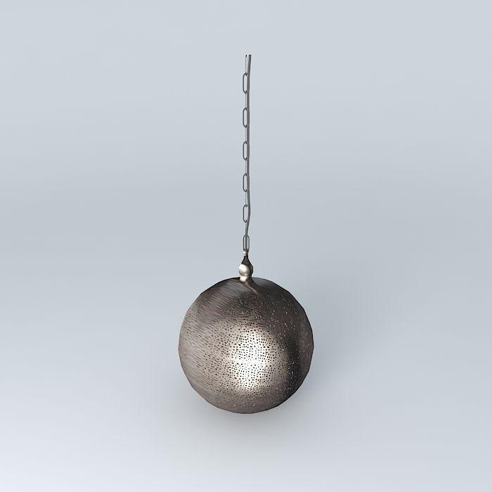 CASABLANCA suspension houses the world 3D Model .max .obj ...