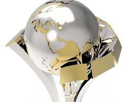 3D model fifa club world cup