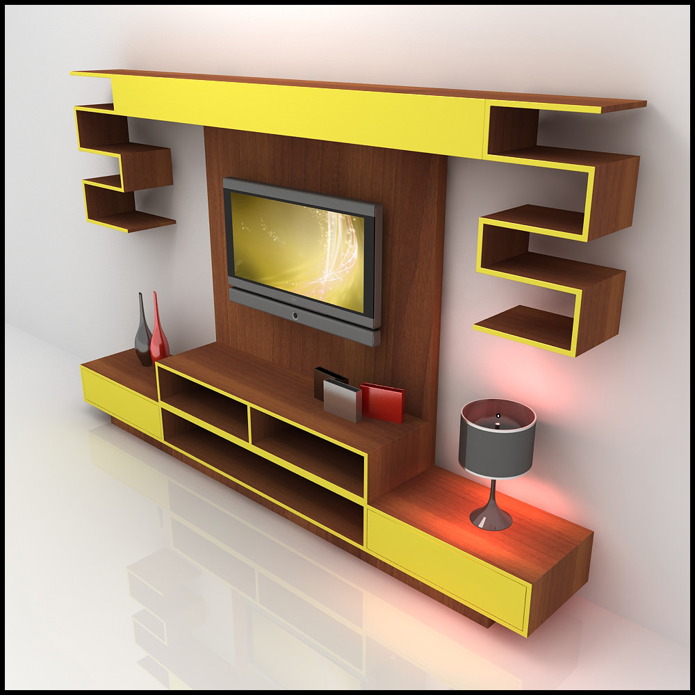 3d tv wall unit design ideas for house Wall units for living room design