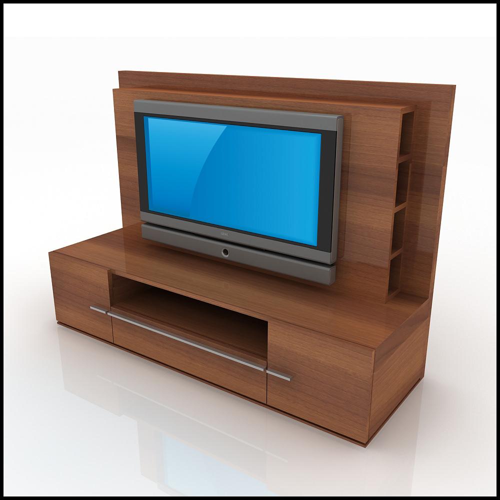 Tv Wall Unit Modern Design X 01