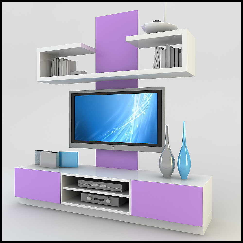 3d tv wall unit design ideas for house Modern tv unit design ideas
