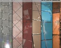 Substance textures 2-Pack 3D model
