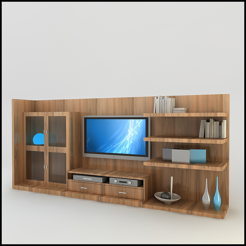 3d tv wall unit - Contemporary tv wall unit designs ...