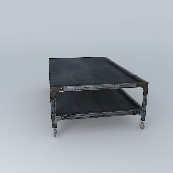 coffee table newton maisons du monde 3d model max obj 3ds fbx stl dae. Black Bedroom Furniture Sets. Home Design Ideas