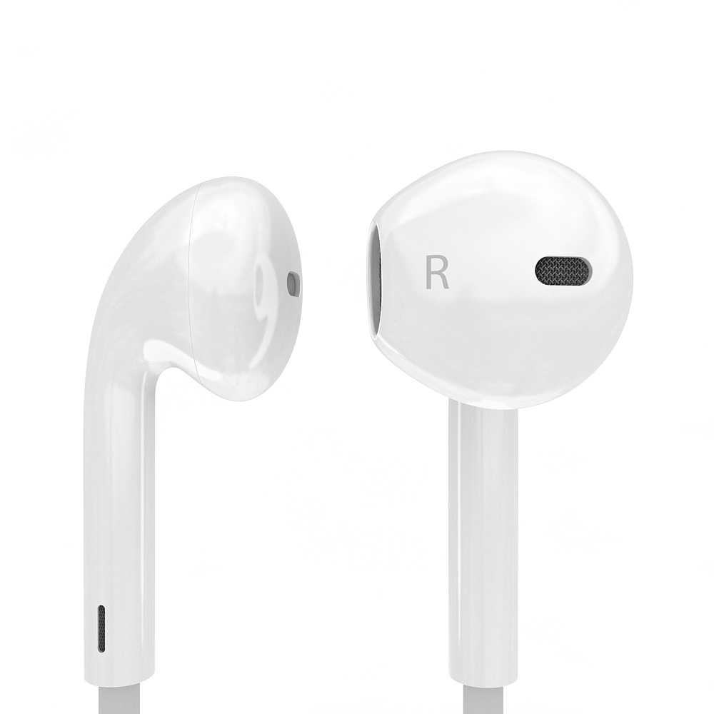 Apple Earpod Realistic Electronics Audio 3d Models Cgtrader Com