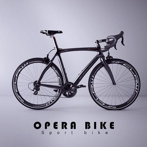 opera bicycle 3d model max fbx 1