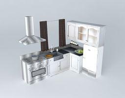 Kitchen Saint Rrémy The World Homes 3D
